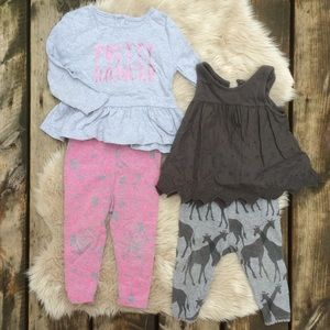 Baby GAP Toddler outfits Size 12-18m